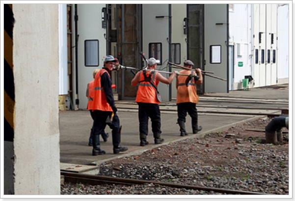 Получение жилья от железной дороги