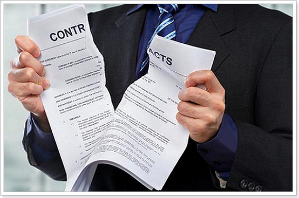 Причина расторжения ипотечного договора страхования